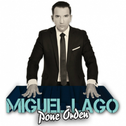 Espectacle Miguel Lago posa ordre