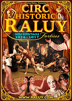 Espectacle Fortius, del Circ Històric Raluy