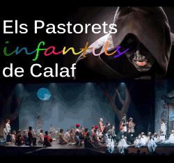 Representació d'Els Pastorets infantils de Calaf