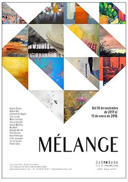 Exposició col·lectiva 'Mélange'. Pintura, fotografia, escultura.\u8203?