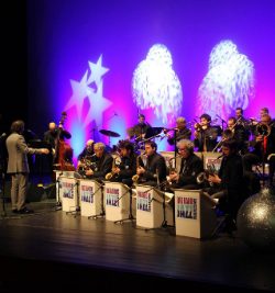 Concert de Nadal de la Big Band Jazz Maresme & Susana Sheiman