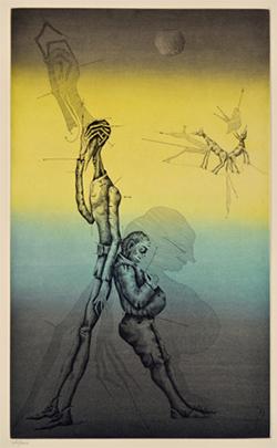 Exposició 'Don Quixot, Kafka i altres somnis. Aguafuertes 1967-1982', de Joan Ponç