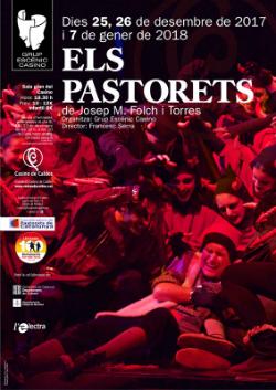 Representació d'Els Pastorets a Caldes de Montbui