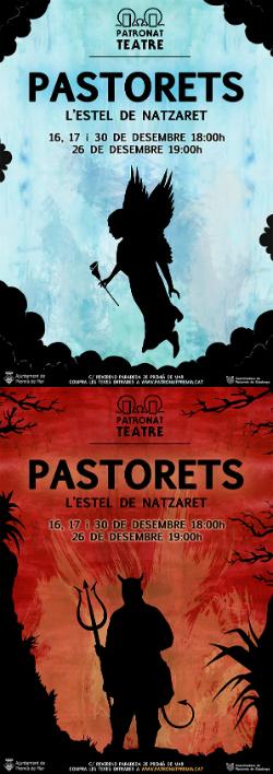 Representació dels Pastorets L'Estel de Natzaret, de Ramon Pàmies