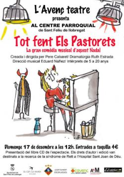 Espectacle Tot fent Els Pastorets. La gran comèdia musical d'aquest Nadal