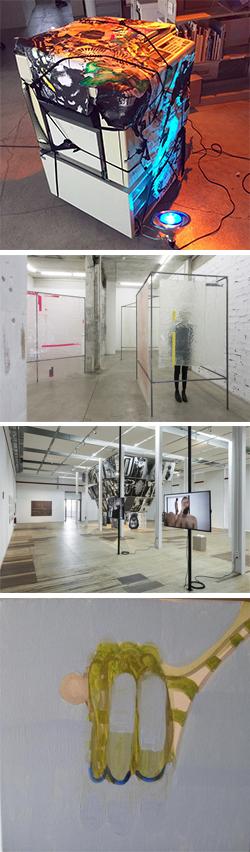 Exposició col·lectiva 'Matèria Primera'