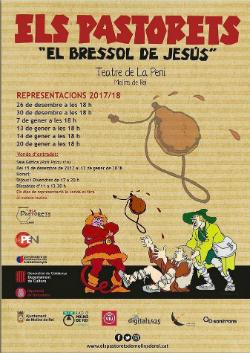 Representació dels Pastorets El bressol de Jesús, de Frederic Soler (Serafí Pitarra)