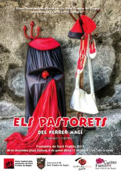 Representació d'Els Pastorets del Ferrer Magí, d'Enriqueta Capellades
