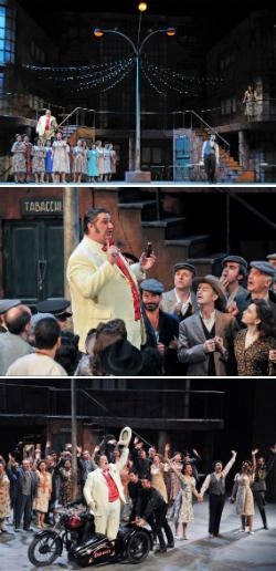 Representació de l'òpera L'elisir d'amore, de Gaetano Donizetti