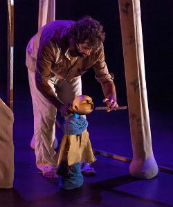 Companyia Cal Teatre, amb El bosc com balla