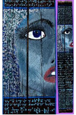 Exposició de pintura Hipatia, dona i seny, de Sara Dalmau