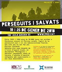 Projecció del documental 'Perseguits i Salvats'