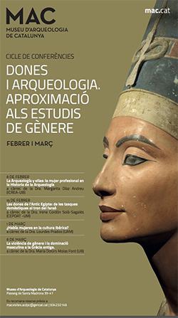 Cicle de conferències 'Dones i arqueologia. Aproximació als estudis de gènere'