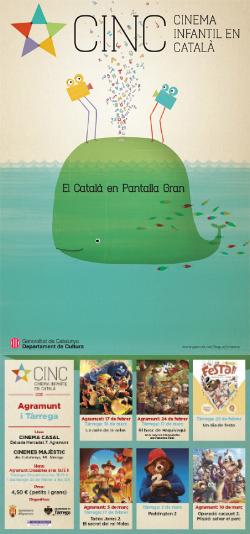 CINC, Cinema Infantil en Català: projeccions a Agramunt i Tàrrega