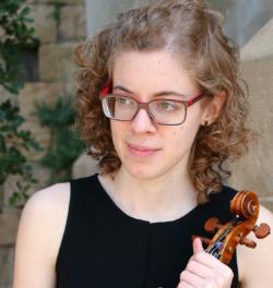 Actuació de Núria Gorchs (viola) i Montserrat Sala (piano)
