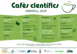 Cafès científics. Sabadell 2018