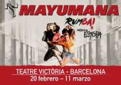 Espectacle Mayumana - Rumba!
