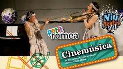 Espectacle infantil Cinemúsica, de Berta Ros i Gisela Juanet