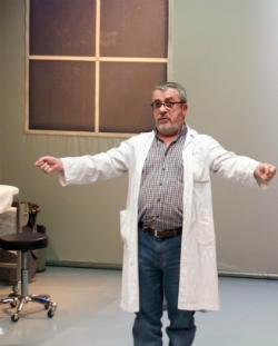 Representació d'El metge de Lampedusa