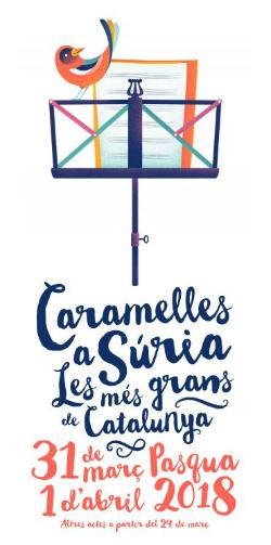 Cantada de caramelles a Súria 2018