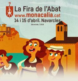Monacàlia, la Fira de l'Abat a Navarcles
