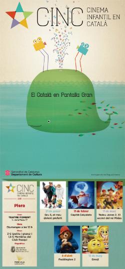 CINC, Cinema Infantil en Català: projeccions a Piera