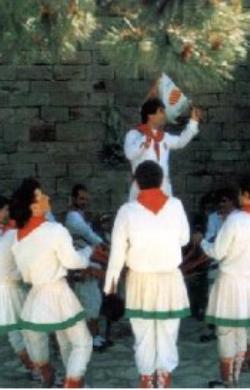Ball de Faixes de Sant Martí de Tous