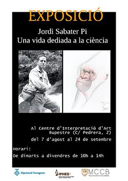 Exposició 'Jordi Sabater Pi. Una vida dediada a la ciència'