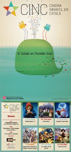 CINC, Cinema Infantil en Català: projeccions a Roses