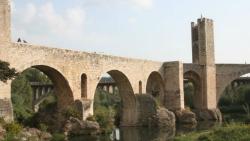 Pont Vell de Besalú. Font: gerio.cat