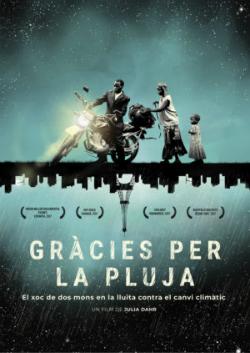 """Projecció del documental """"Gràcies per la pluja"""", de Julia Dahr. Font: web del Documental del mes"""