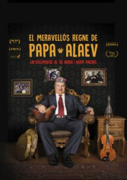 """Projecció del documental """"El meravellós regne de Papa Alaev"""", de Tal Barda i Noam Pinchas (2016). Font: web del Documental del mes"""