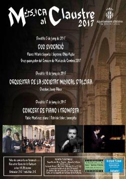 Cicle de concerts 'Música al claustre. Música i poesia'