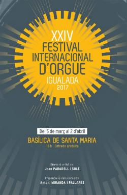 XIV Festival Internacional d'Orgue d'Igualada