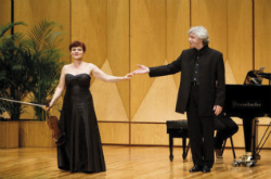 Concert d'Ala Voronkova (violí) i Gerassim Voronov (piano)