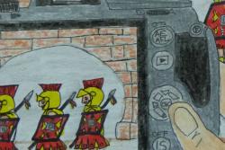 Exposició del XIV Concurs de Dibuixos del Manípul de Manaies de Banyoles. Font: web dels Museus de Banyoles