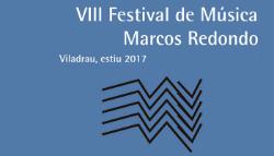 VIII Festival de Música Marcos Redondo. Font: web de l'Ajuntament de Viladrau