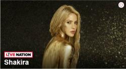 Actuació de Shakira