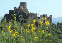 Castell de Montsoriu. Font: web dels Amics del Museu d'Art de Girona