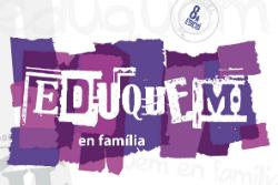 """Cicle """"Eduquem en família (curs 2017-2018)"""". Font: web del Servei d'Educació de l'Ajuntament de Banyoles"""
