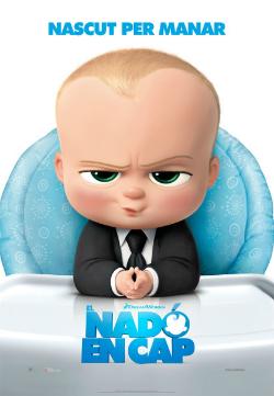 Projecció de la pel·lícula El nadó en cap