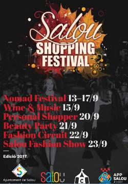 Salou Shopping FestivalPasseig Jaume I (Salou) Del 13 al 23 de setembre