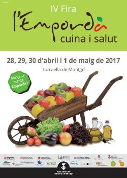 """IV Fira """"Empordà, cuina i salut"""". Font: Ajuntament de Torroella de Montgrí-l'Estartit"""