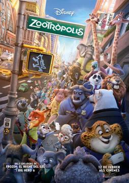 Projeccions de la pel·lícula Zootròpolis