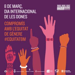 Commemoració del Dia Internacional de les Dones a Roses