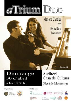 Concert d'aTrium Duo