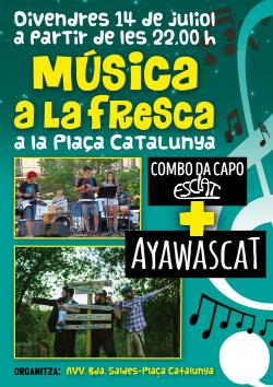Concert de Combo da Capo Esclat + Ayawascat