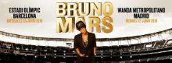 Actuació de Bruno Mars