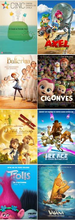 CINC, Cinema Infantil en Català. Projeccions a les comarques tarragonines
