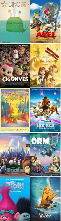 CINC, Cinema Infantil en Català. Projeccions a les comarques lleidatanes